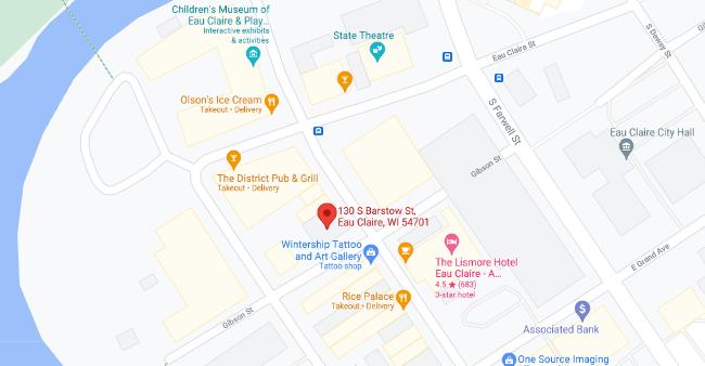 Eau Claire Willow Creek Womens Clinic Google Map